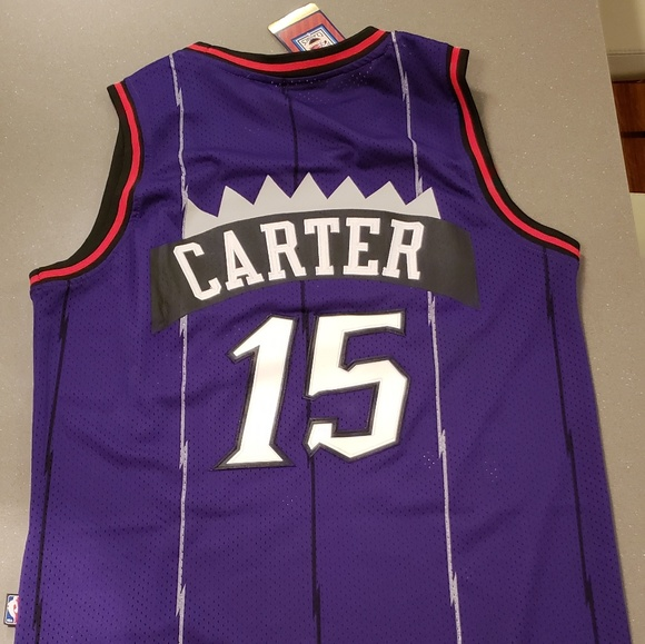 sports shoes 0a0ee b4ed5 NWT Vince Carter Raptors Jersey NWT